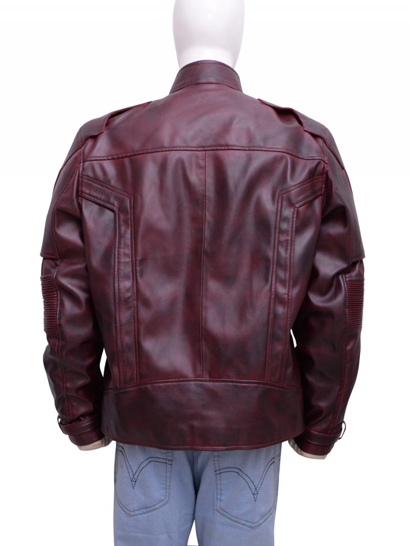 Guardians Of The Galaxy 2 Star Lord Chris Pratt Leather Jacket