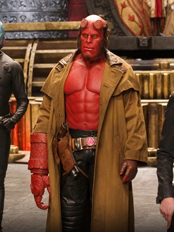 Ron Perlman Demon Hellboy Coat