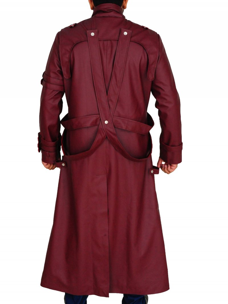 The Stampede Trigun Vash Long leather Coat