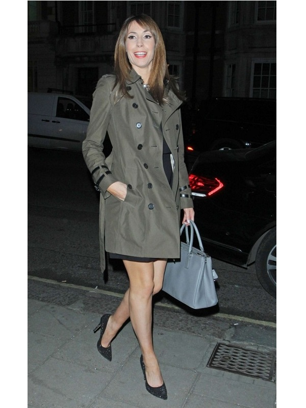 Alex Jones Radio Times Cover Party Coat