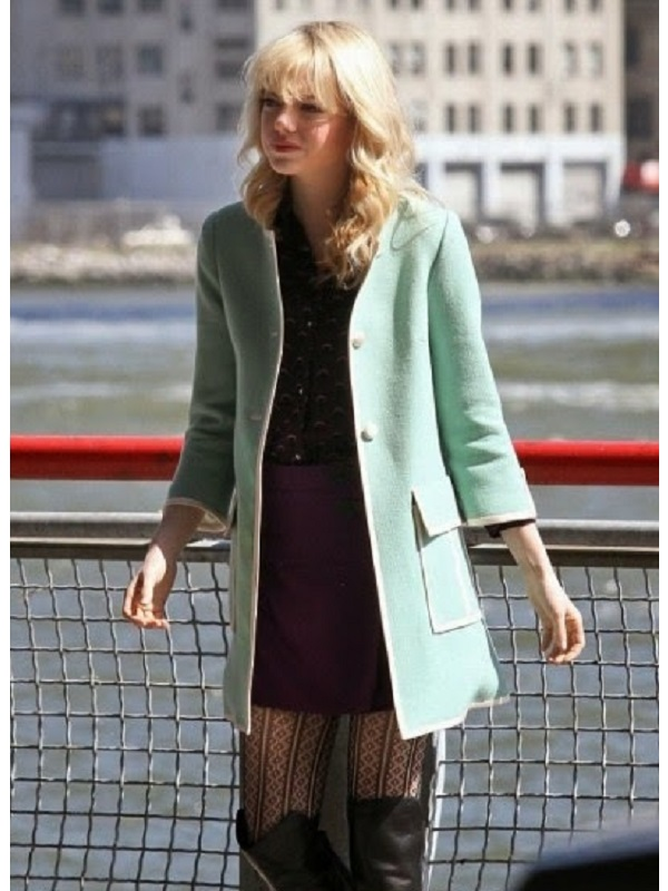Amazing Spiderman 2 Gwen Stacy Coat