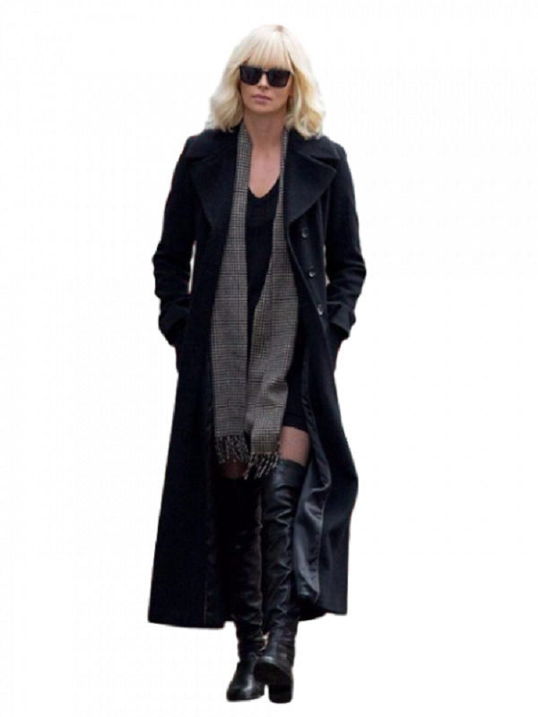 Charlize Theron Long Coat