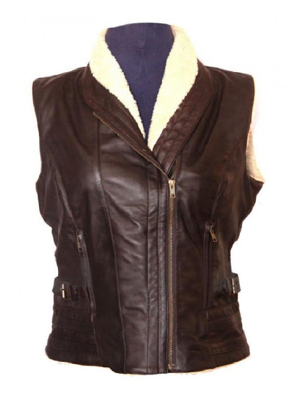 Laurie Holden The Walking Dead Vest