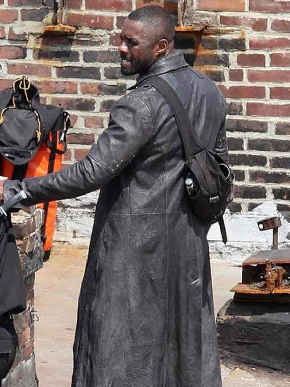 Idris Elba The Dark Tower Roland Leather Coat