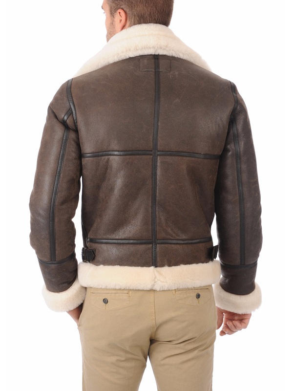 Men's Bomber Brown Jacket