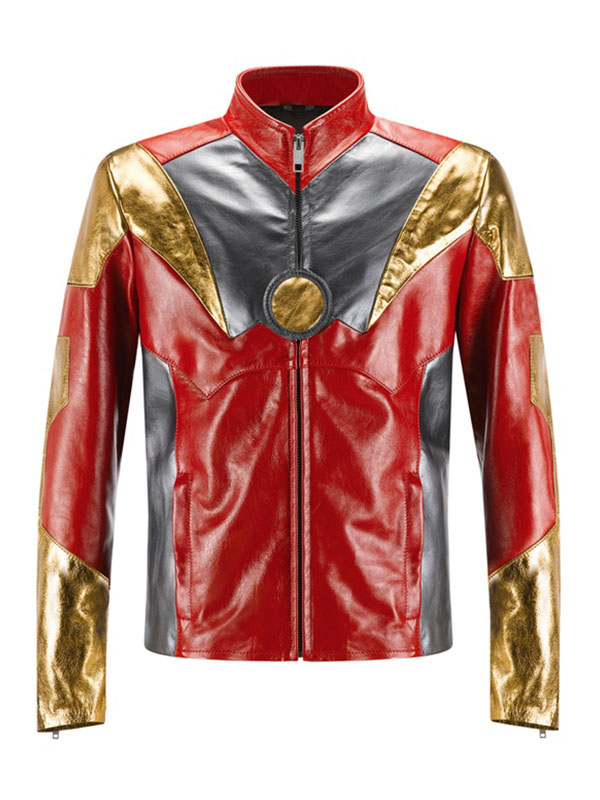 Avengers Age Of Ultron Iron Man Leather Jacket