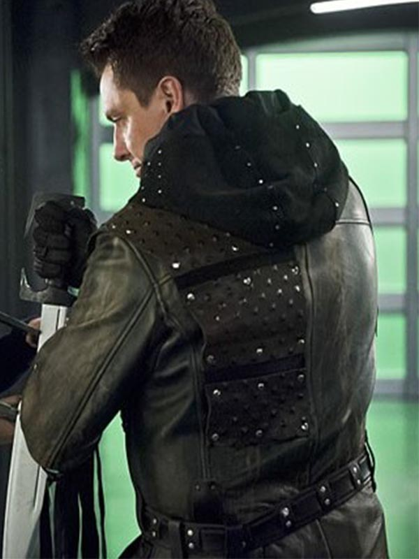 John Barrowman Arrow Malcolm Merlyn Jacket