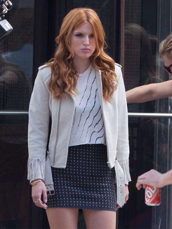 Bella Thorne Fringe Jacket