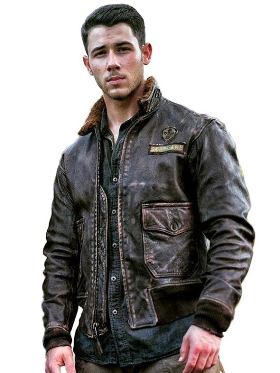 Jumanji Welcome to the Jungle Nick Jonas Jacket