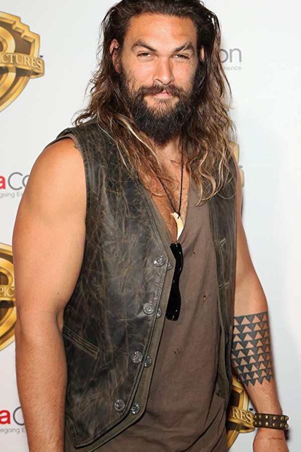 Star Jason Momoa Leather Vest