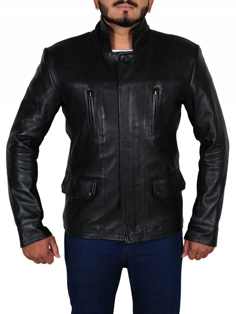 Anthony Lemke Dark Matter Black Jacket