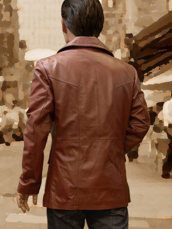 Donnie Brasco Donnie Leather Coat