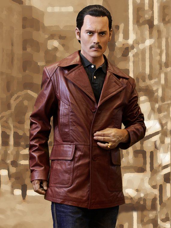 Donnie Leather Coat