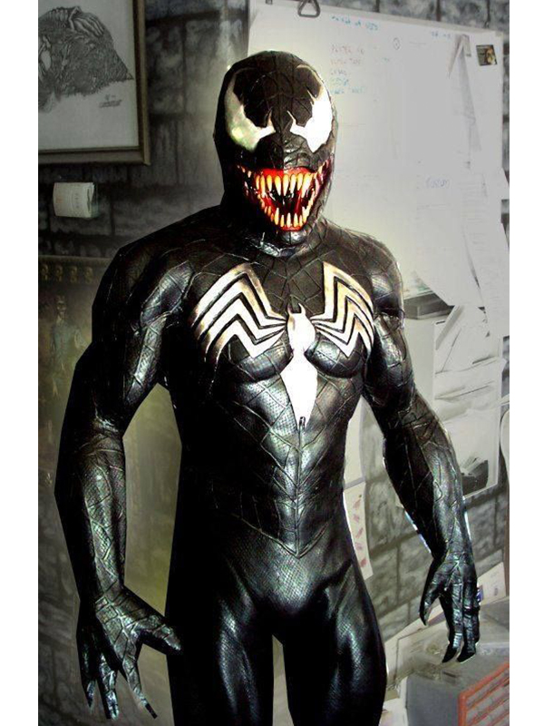 Eddie Brock Spiderman Venom Jacket