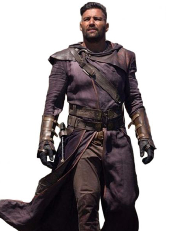Manu Bennett The Shannara Chronicles Allanon Coat