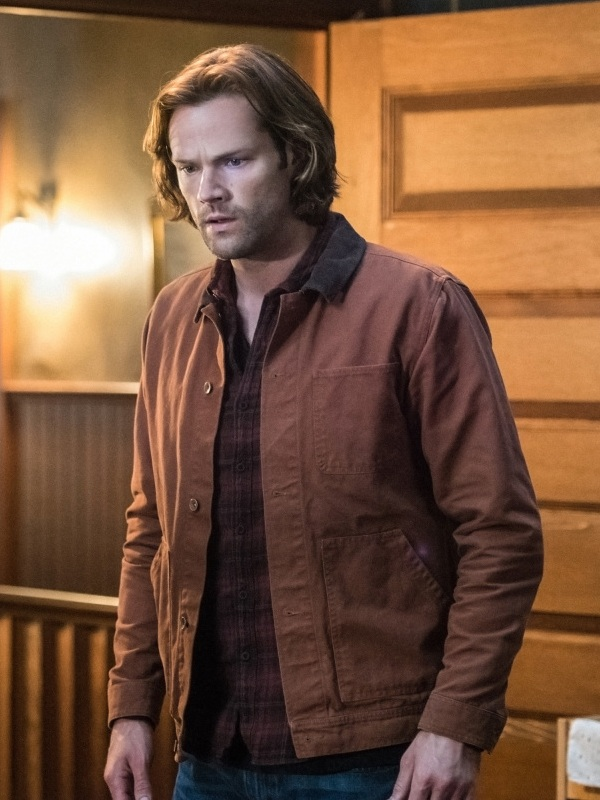 Supernatural Series Sam Winchester Jared Padalecki Brown Cotton Jacket