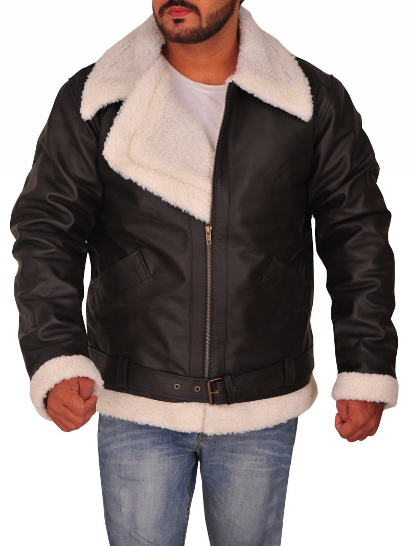 Sylvester Stallone Rocky IV Bomber Leather Jacket,