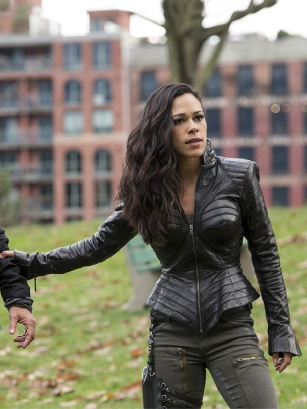 The Flash Jessica Camacho Leather Jacket