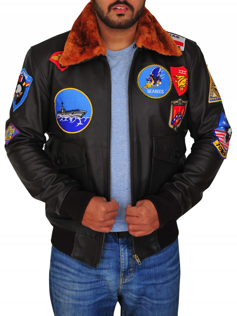 Tom Cruise Top Gun Pilot Maverick Bomber Jacket,