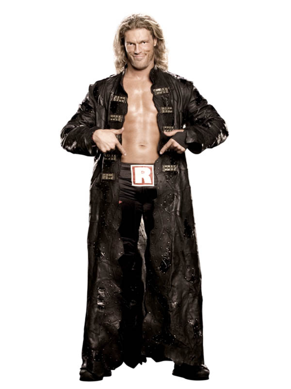 WWE Wrestler Edge Leather Long Coat