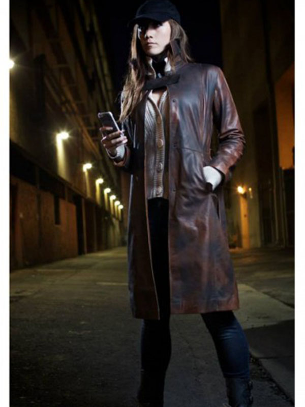 Aiden Pearce Watch Dogs Coat Jacket For Women