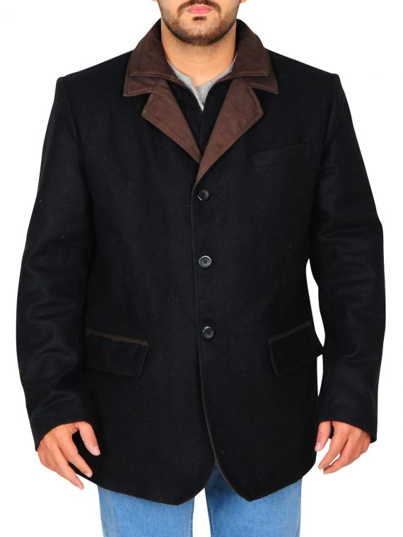 Don Johnson Blood And Oil Black Coat