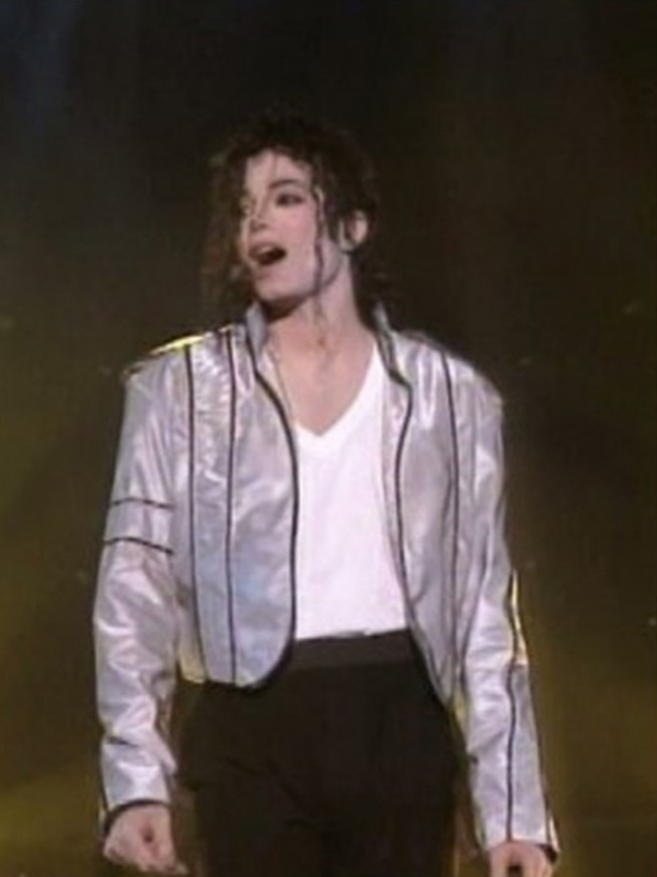 Michael Jackson Satin Jacket