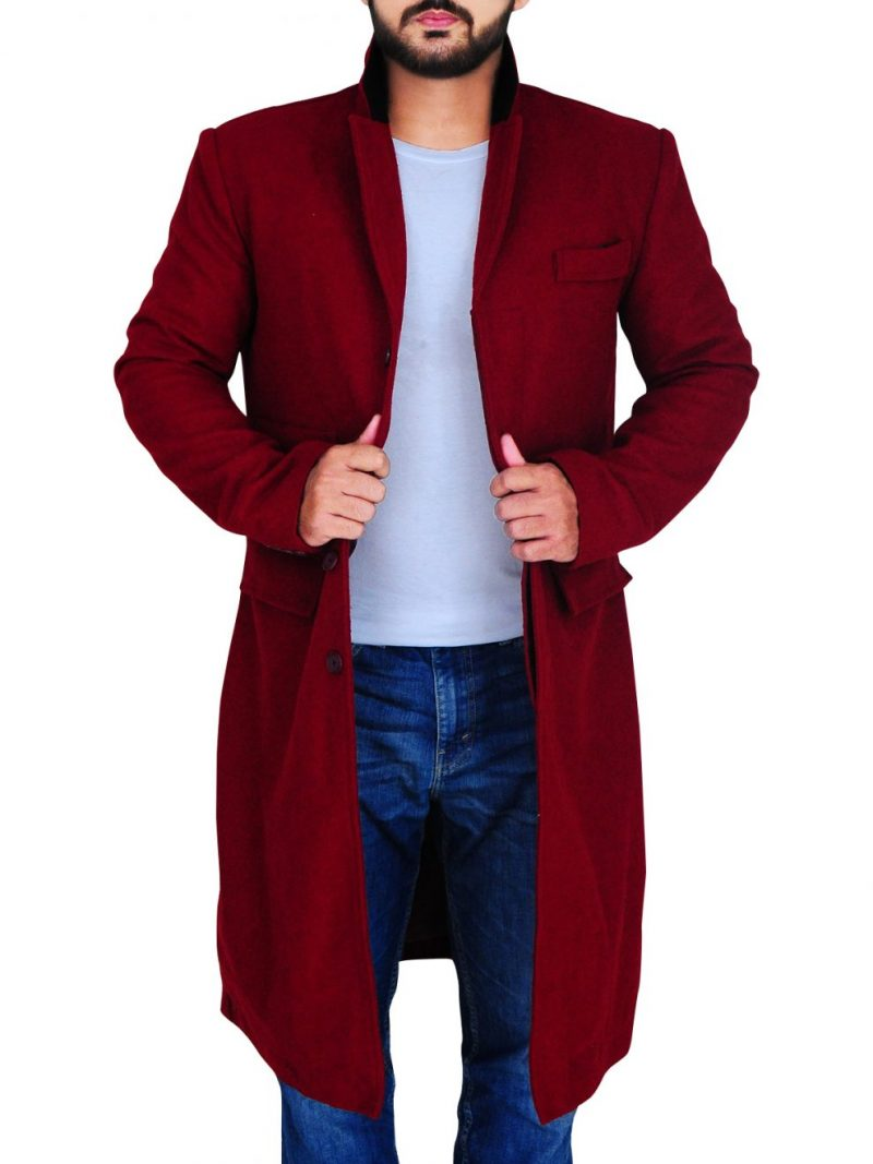 The Greatest Showman Hugh Jackman Wool Coat,