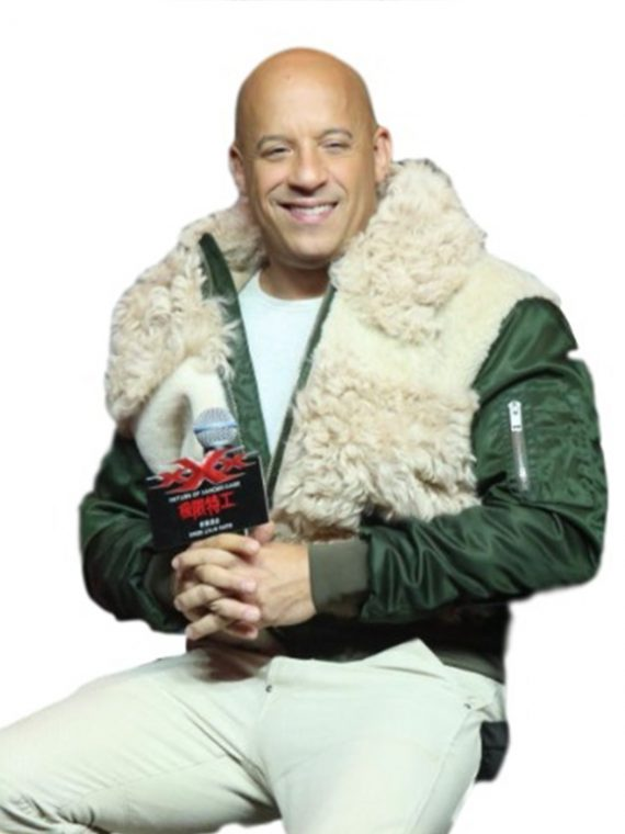 Vin Diesel Movie Premier Return of Xander Cage Jacket