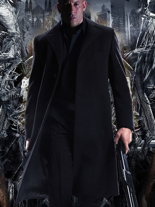 Vin Diesel The Last Witch Hunter Black Coat