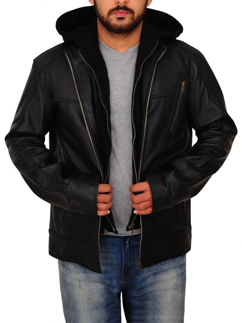 Chicago PD Black Leather Jacket,