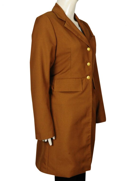 Lily Bell Hell On Wheels Brown Coat