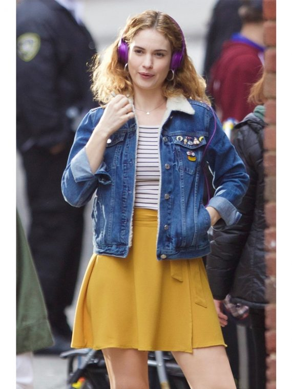 Lily James Baby Driver Jacket