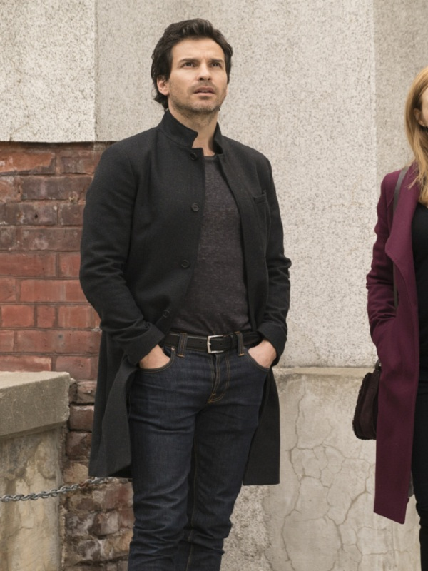Salvation TV Series Santiago Cabrera Trench Coat,