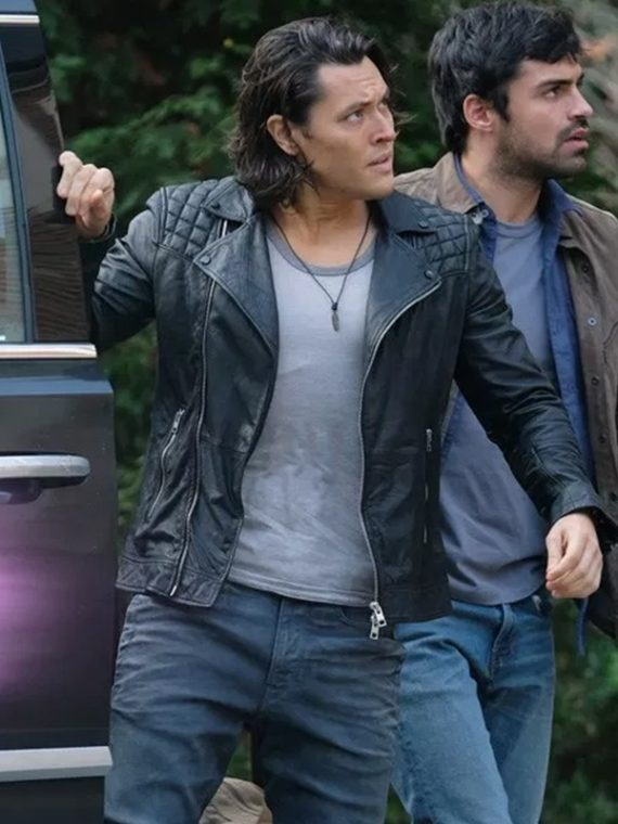 The Gifted Blair Redford Quilted Style Jacket,