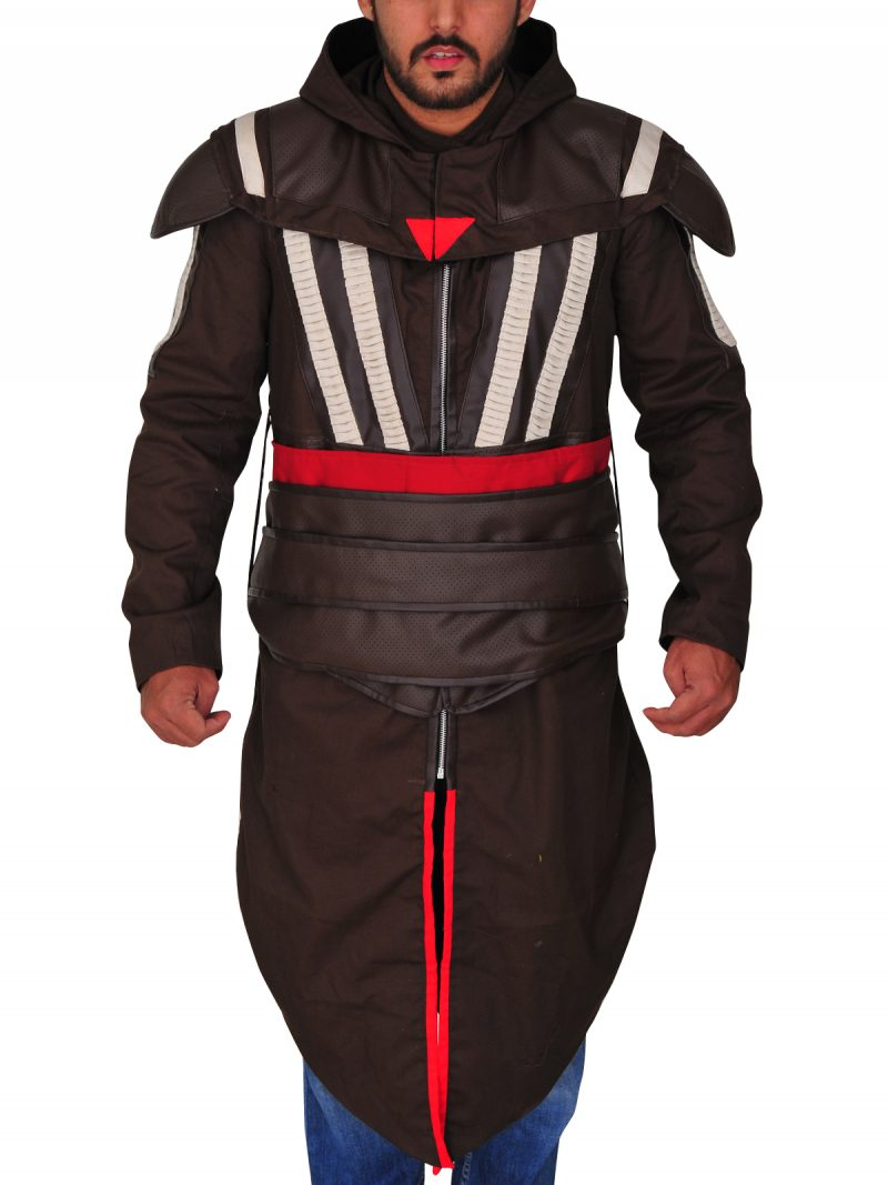 Assassins Creed Aguilar Costume Coat,