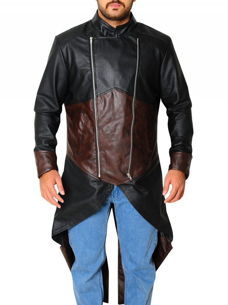 Assassins Creed Unity Leather Coat