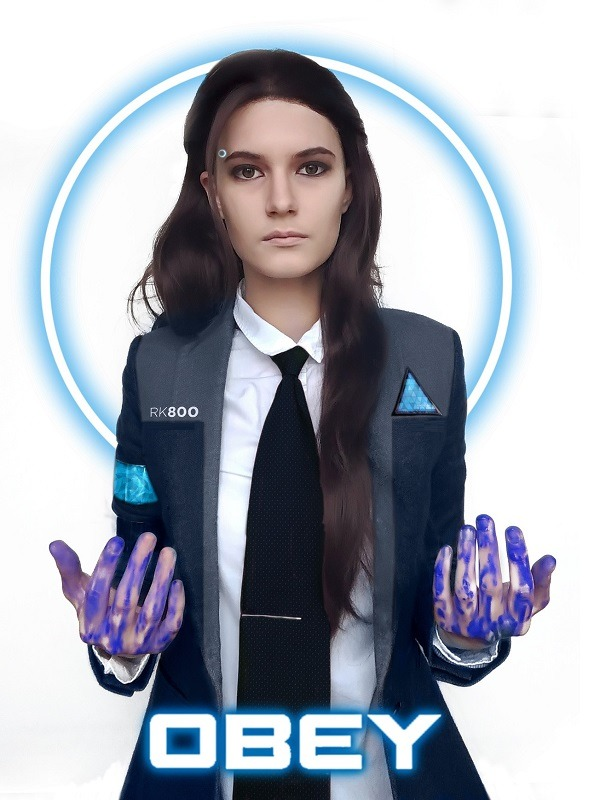 Detroit Become Human Agent Kara Cosplay Jacket,