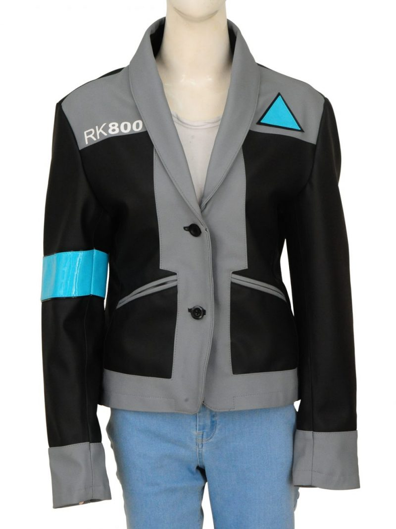 Detroit Become Human Agent Kara Leather Jacket,
