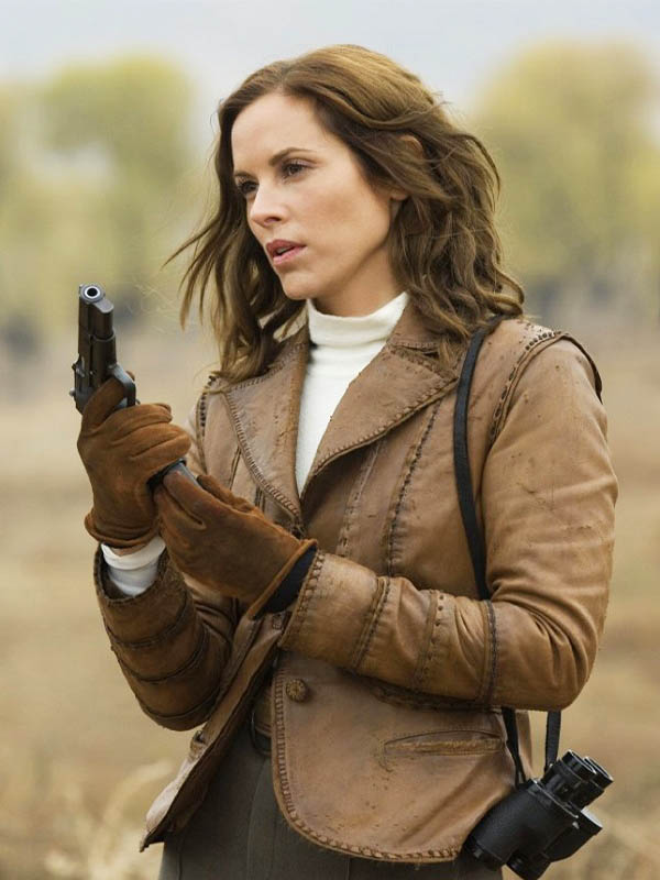 Maria Bello Mummy 3 Leather Jacket