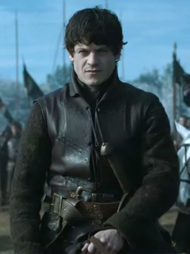 Ramsay Snow Game Of Thrones Iwan Rheon Leather Vest