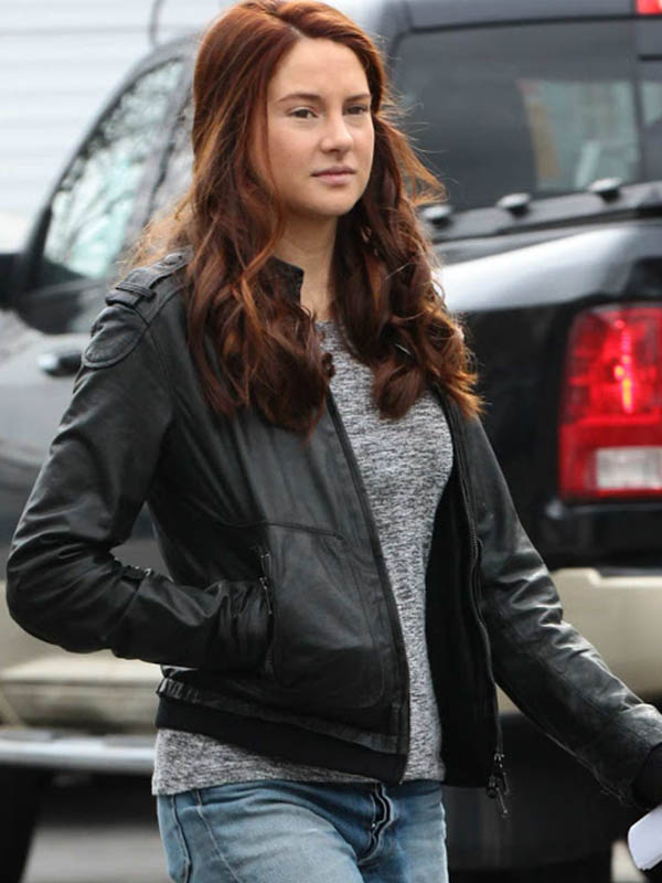 Shailene Woodley Amazing Spiderman 2 Jacket