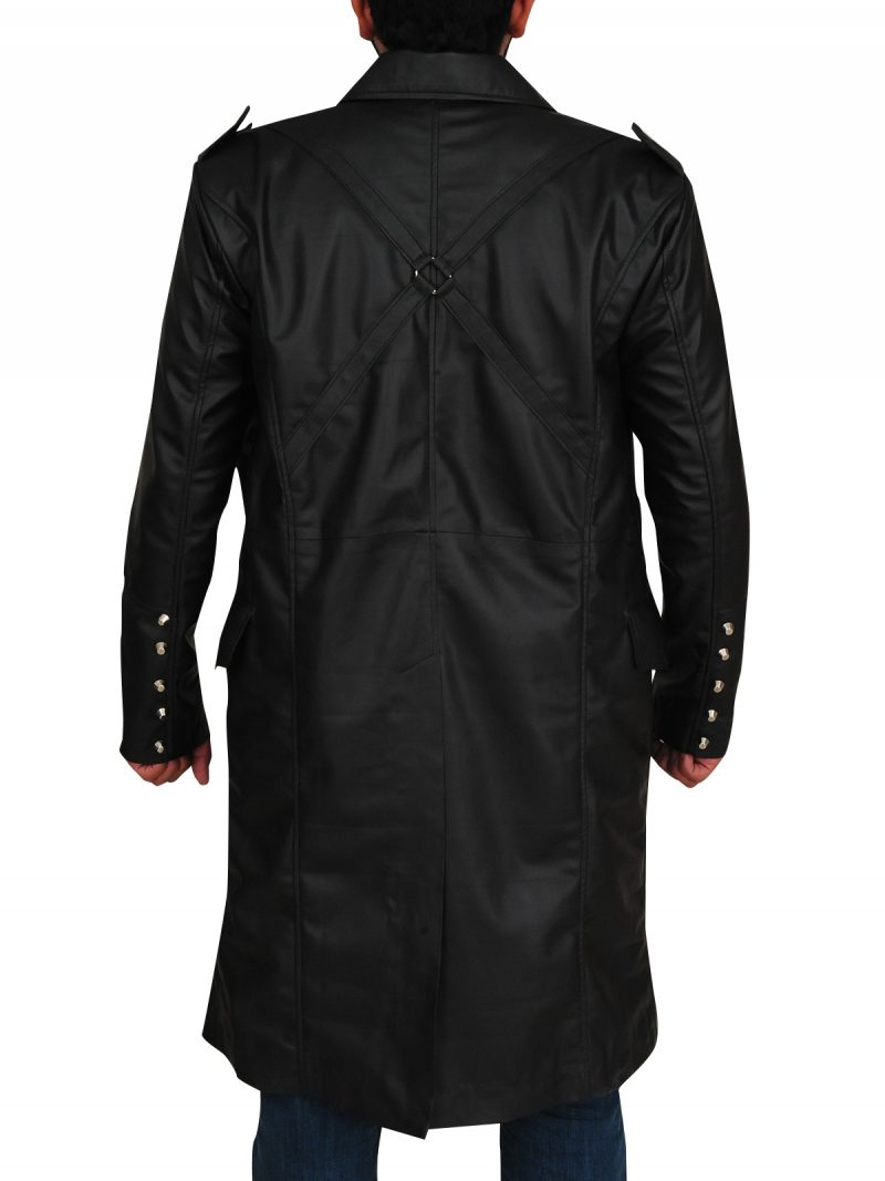 Matrix Steampunk Gothic Black Coat