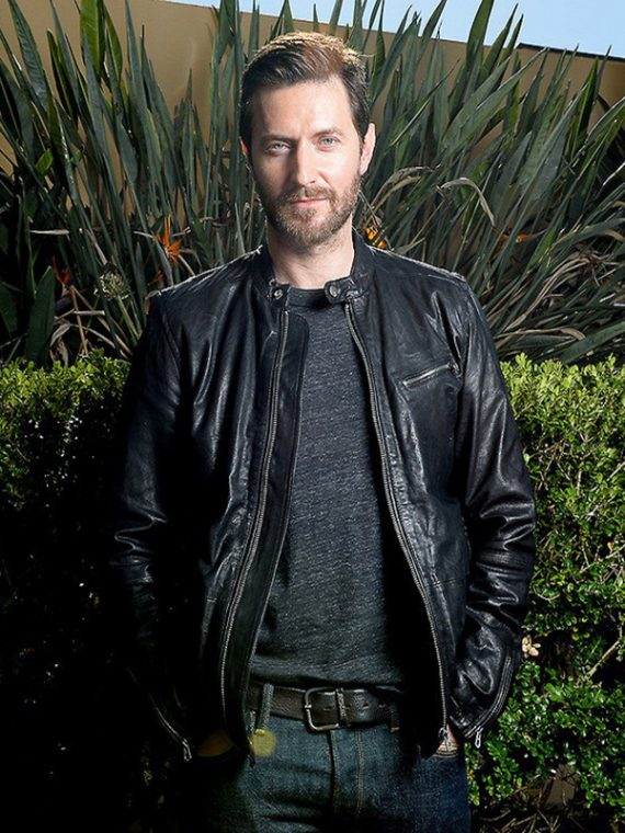 Tom Ellis Lucifer Leather Jacket