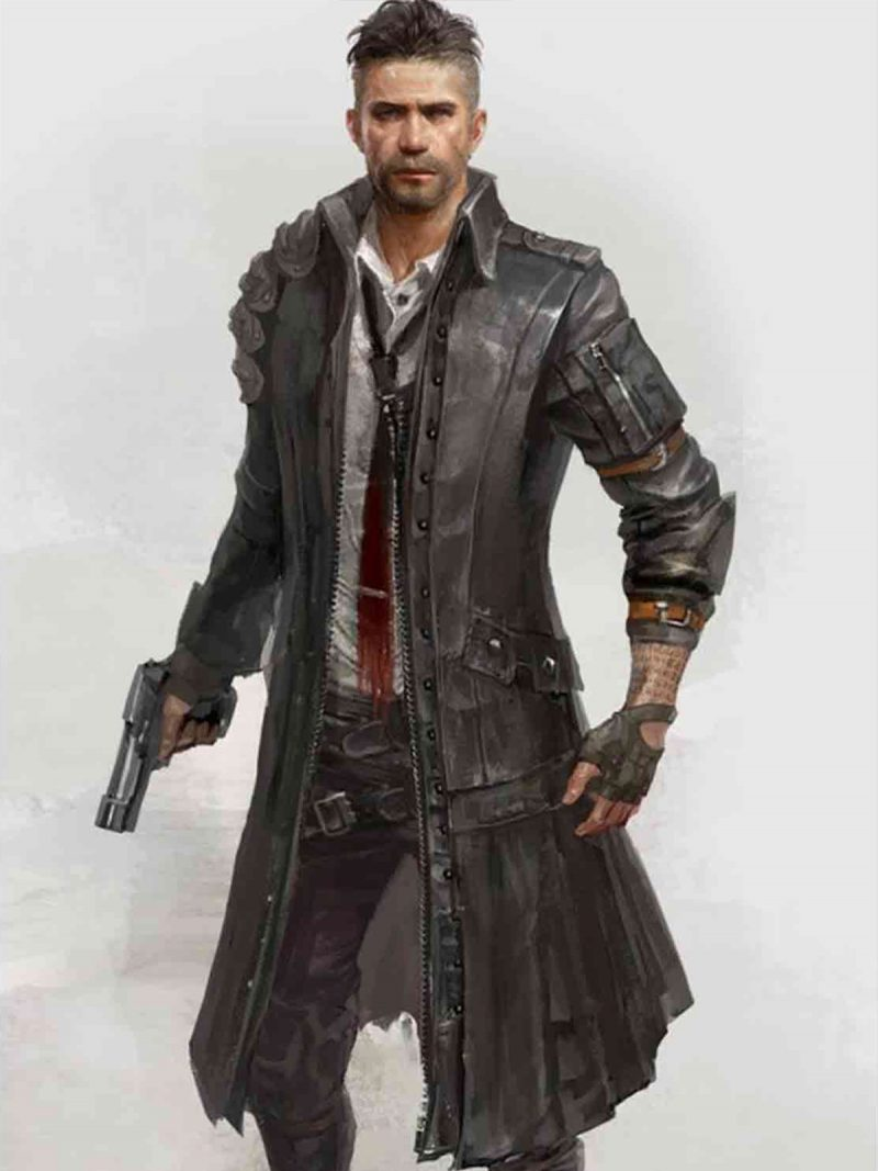 Battlegrounds Leather Coat