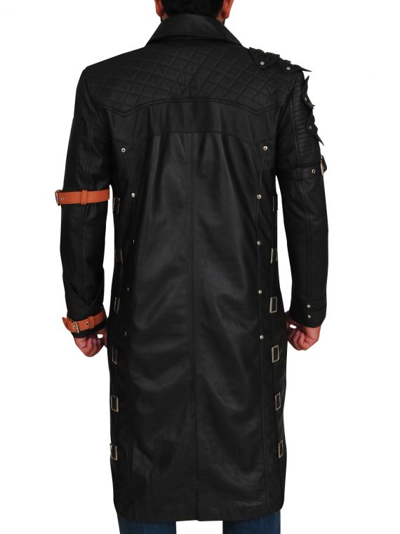 Battlegrounds Playerunknown Game Leather Coat