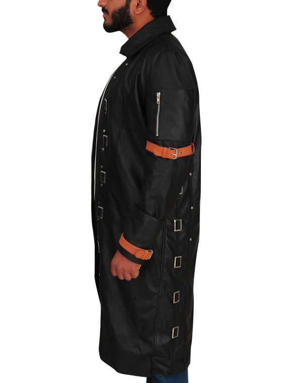 Battlegrounds Playerunknown Trench Leather Coat