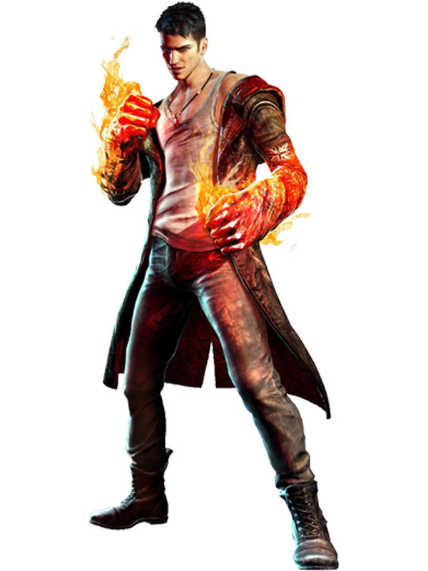 DMC IV Devil May Cry Nero Cosplay Coat
