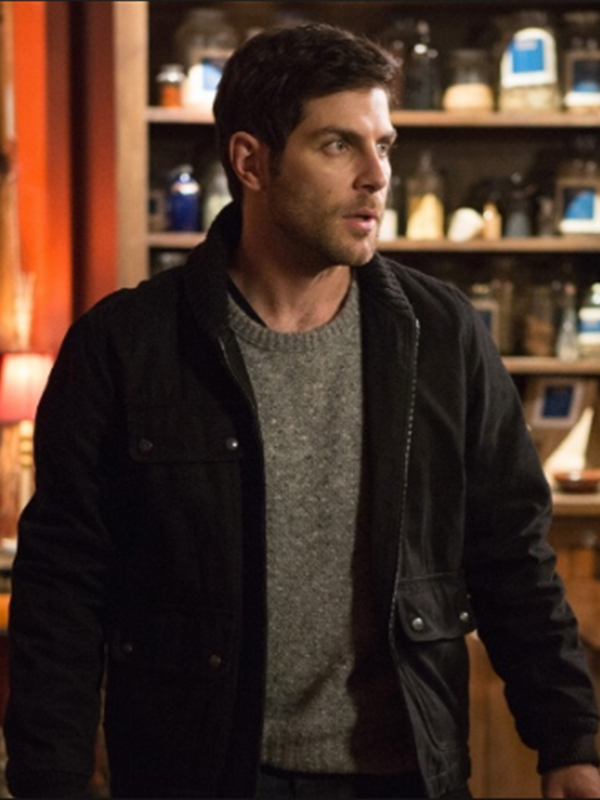 David Giuntoli Grimm Season 4 Jacket