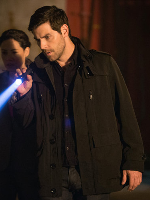 David Giuntoli Grimm Season 5 Jacket